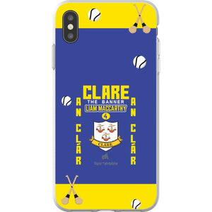 Clare Liam MacCarthy - iPhone XS Max Flexi Case Clear