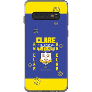Clare Sam Maguire - Samsung Galaxy S10 Flexi Case Clear