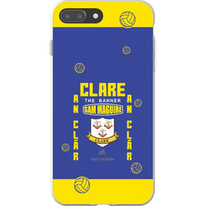 Clare Sam Maguire - iPhone 8 Plus Flexi Case Clear
