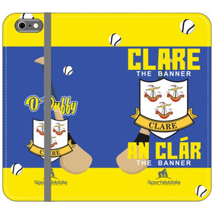Clare O'Duffy - iPhone 6S Plus Folio Wallet In Satin