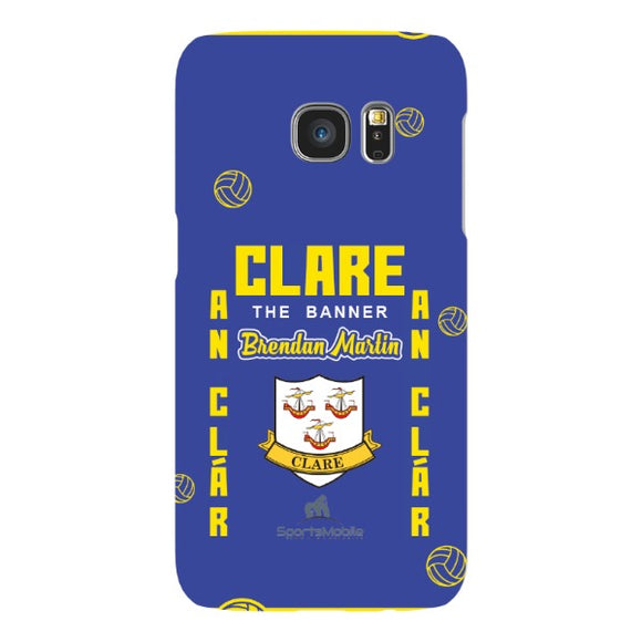 Clare Brendan Martin - Samsung Galaxy S7 Snap Case In Gloss