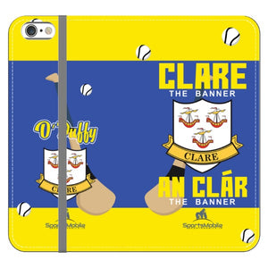 Clare O'Duffy - iPhone 6 Plus /6S Plus Folio Wallet Case In Satin