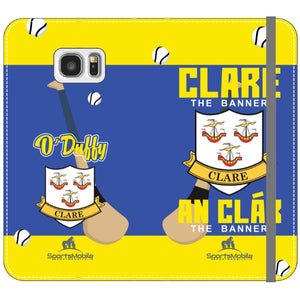 Clare O'Duffy - Samsung Galaxy S7 Edge Folio Wallet In Satin