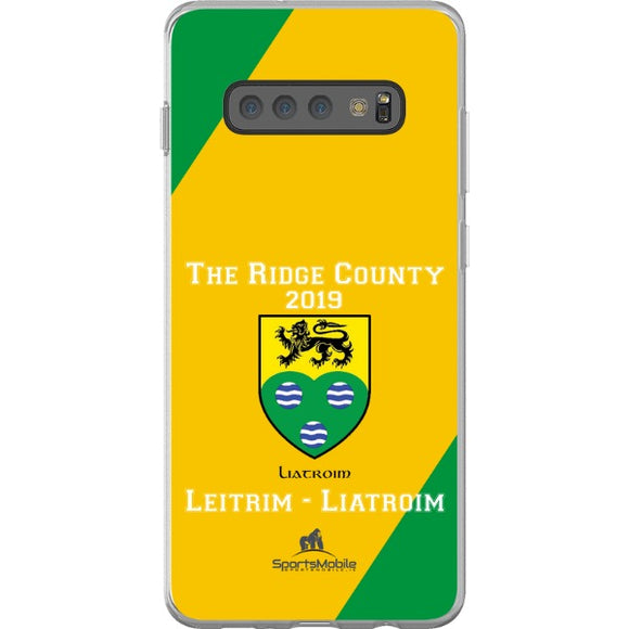 Leitrim Retro - Samsung Galaxy S10 Plus Flexi Case Clear