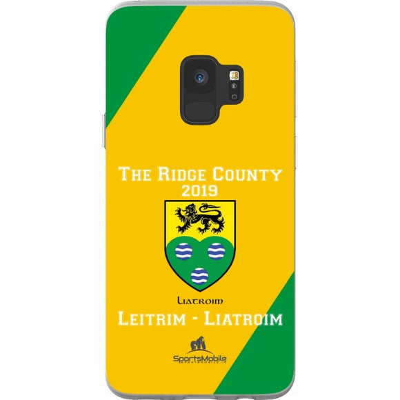 Leitrim Retro - Samsung Galaxy S9 Flexi Case Clear