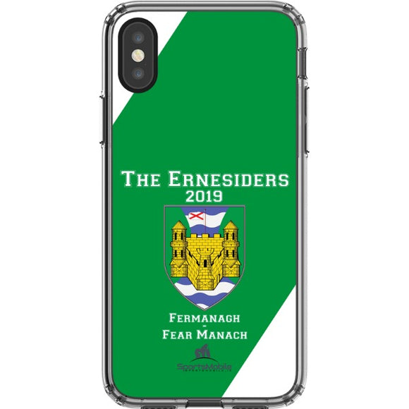 Fermanagh Retro - iPhone X JIC Case Type B