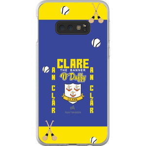 Clare O'Duffy - Samsung Galaxy S10e Flexi Case Clear