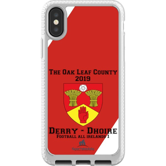 Derry Retro - iPhone X JIC Case Type A