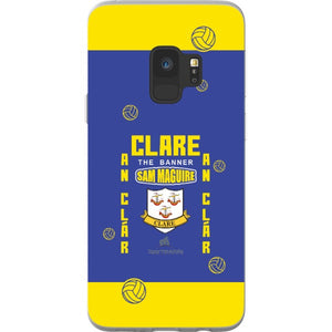 Clare Sam Maguire - Samsung Galaxy S9 Flexi Case Clear