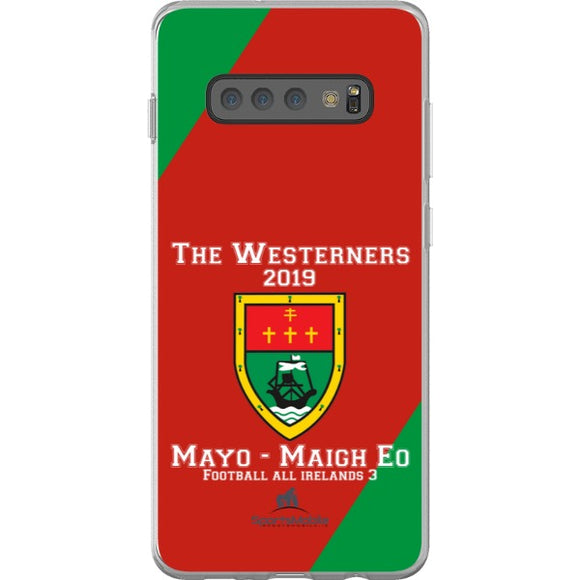 Mayo Retro - Samsung Galaxy S10 Plus Flexi Case Clear