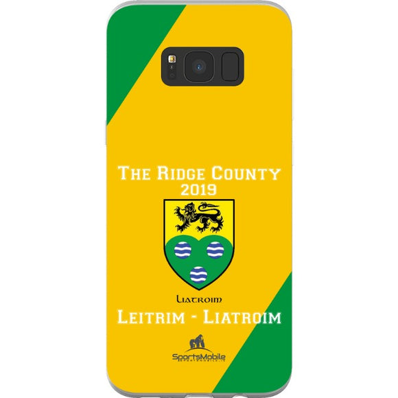 Leitrim Retro - Samsung Galaxy S8 Plus Flexi Case Clear