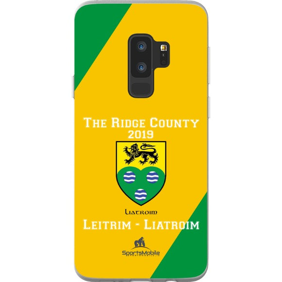 Leitrim Retro - Samsung Galaxy S9 Plus Flexi Case Clear
