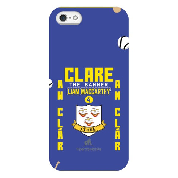 Clare Liam MacCarthy - iPhone SE Snap Case In Gloss
