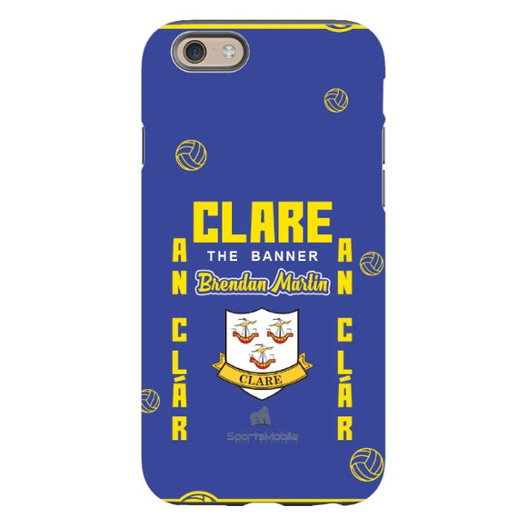 Clare Brendan Martin - iPhone 6S Tough Case Black Gloss