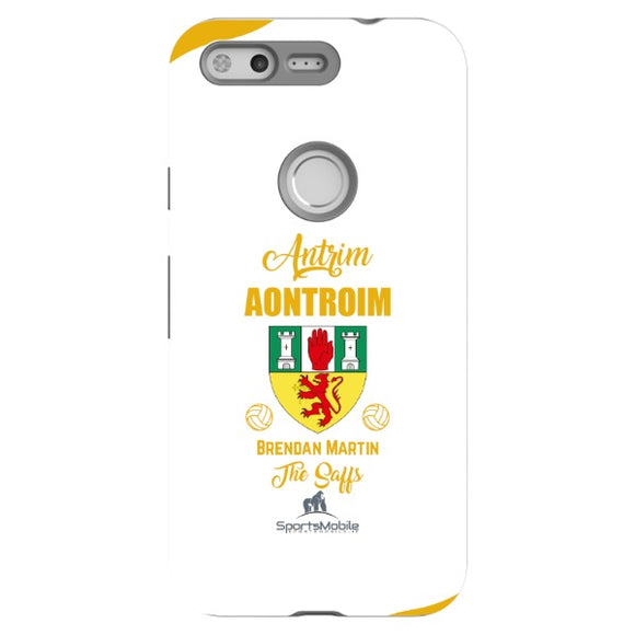 Antrim Brendan Martin - Google Pixel Tough Case Black In Gloss