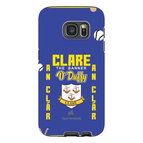 Clare O'Duffy - Samsung Galaxy S7 Tough Case Black Matte