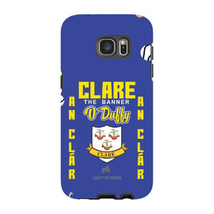 Clare O'Duffy - Samsung Galaxy S7 Edge Tough Case Black In Gloss