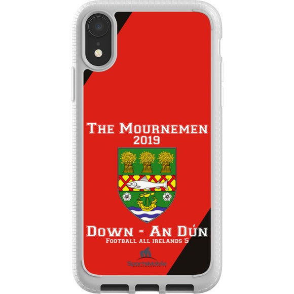 Down Retro - iPhone XS JIC Case Type A