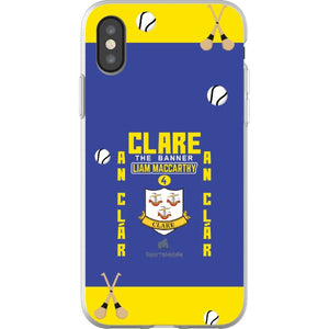 Clare Liam MacCarthy - iPhone X Flexi Case Clear