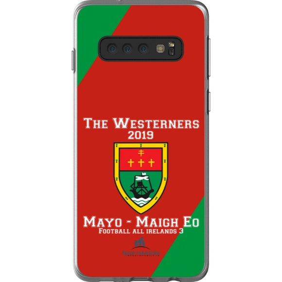 Mayo Retro - Samsung Galaxy S10 Flexi Case Clear