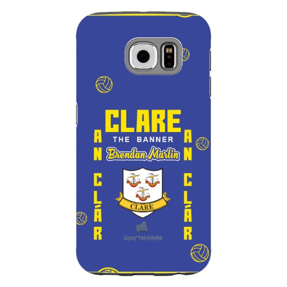 Clare Brendan Martin - Samsung Galaxy S6 Tough Case Black TPU Matte
