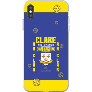 Clare Sam Maguire - iPhone XS Max Flexi Case Clear