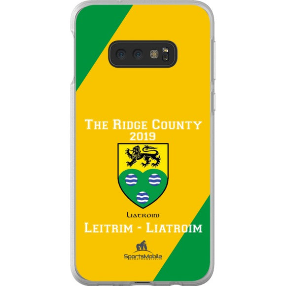 Leitrim Retro - Samsung Galaxy S10e Flexi Case Clear