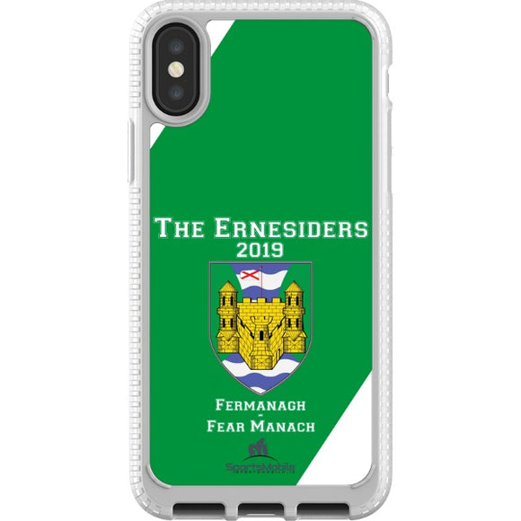 Fermanagh Retro - iPhone X JIC Case Type A