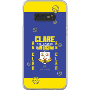 Clare Sam Maguire - Samsung Galaxy S10e Flexi Case Clear