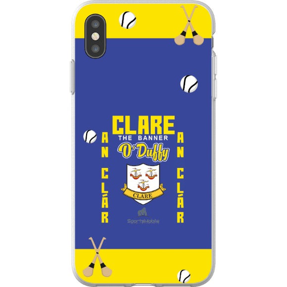 Clare O'Duffy - iPhone XS Max Flexi Case Clear