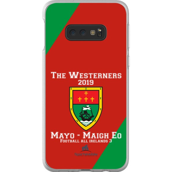 Mayo Retro - Samsung Galaxy S10e Flexi Case Clear