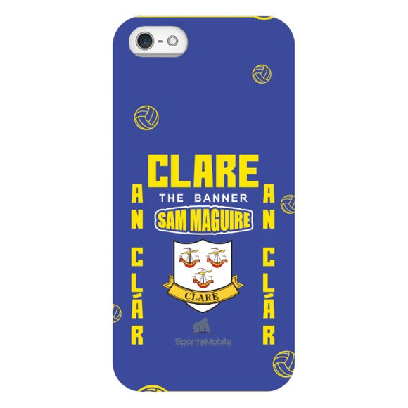 Clare Sam Maguire - iPhone SE Snap Case In Gloss