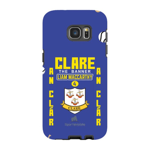 Clare Liam MacCarthy - Samsung Galaxy S7 Edge Tough Case Black In Matte