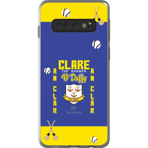 Clare O'Duffy - Samsung Galaxy S10 Flexi Case Clear