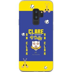 Clare O'Duffy - Samsung Galaxy S9 Plus Flexi Case Clear