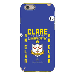 Clare Liam MacCarthy - iPhone 6S Tough Case Black Matte