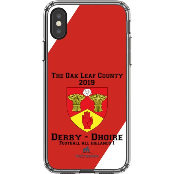 Derry Retro - iPhone X JIC Case Type B