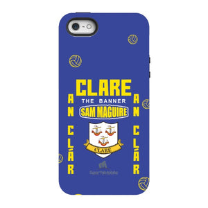 Clare Sam Maguire - iPhone SE Tough Case Black In Gloss