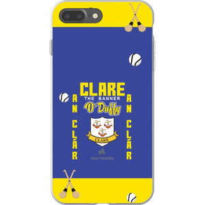 Clare O'Duffy - iPhone 7 Plus Flexi Case Clear