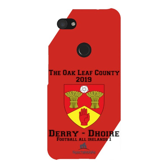 Derry Retro - Google Pixel 3AXL Snap Case In Gloss