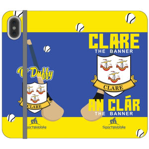 Clare O'Duffy - iPhone XS Max Folio In Satin