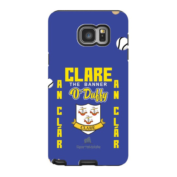 Clare O'Duffy - Samsung Galaxy Note 5 Tough Case Black In Gloss