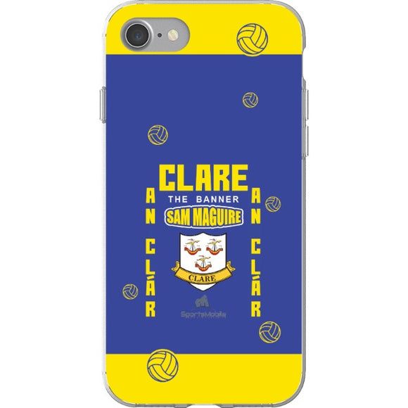 Clare Sam Maguire - iPhone 7 Flexi Case Clear