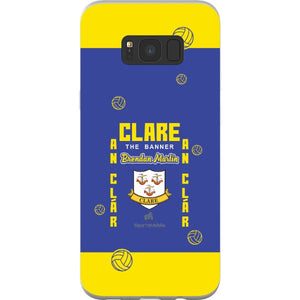 Clare Brendan Martin - Samsung Galaxy S8 Plus Flexi Case Clear