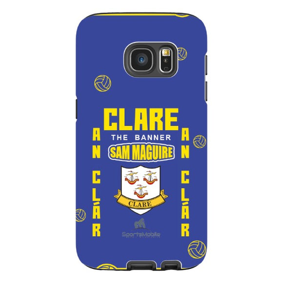 Clare Sam Maguire - Samsung Galaxy S7 Tough Case Black Matte