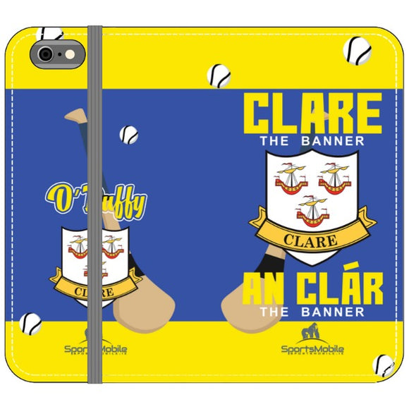 Clare O'Duffy - iPhone 6S Folio Wallet In Satin