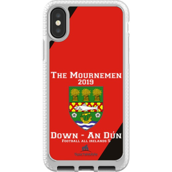 Down Retro - iPhone X JIC Case Type A