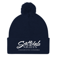 Scottsdale Nights Pom Pom Beanie - Multiple Colors Available