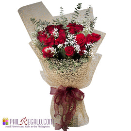 Grand 2 Dozen Red Rose Bouquet
