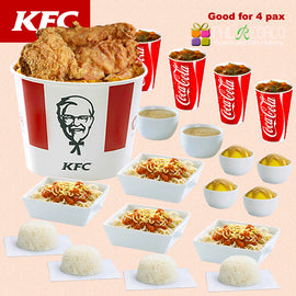 KFC Delicious Package for 4